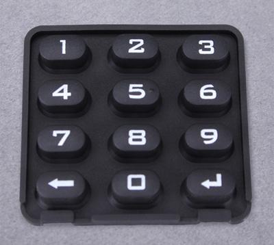 黑色硅胶按键
